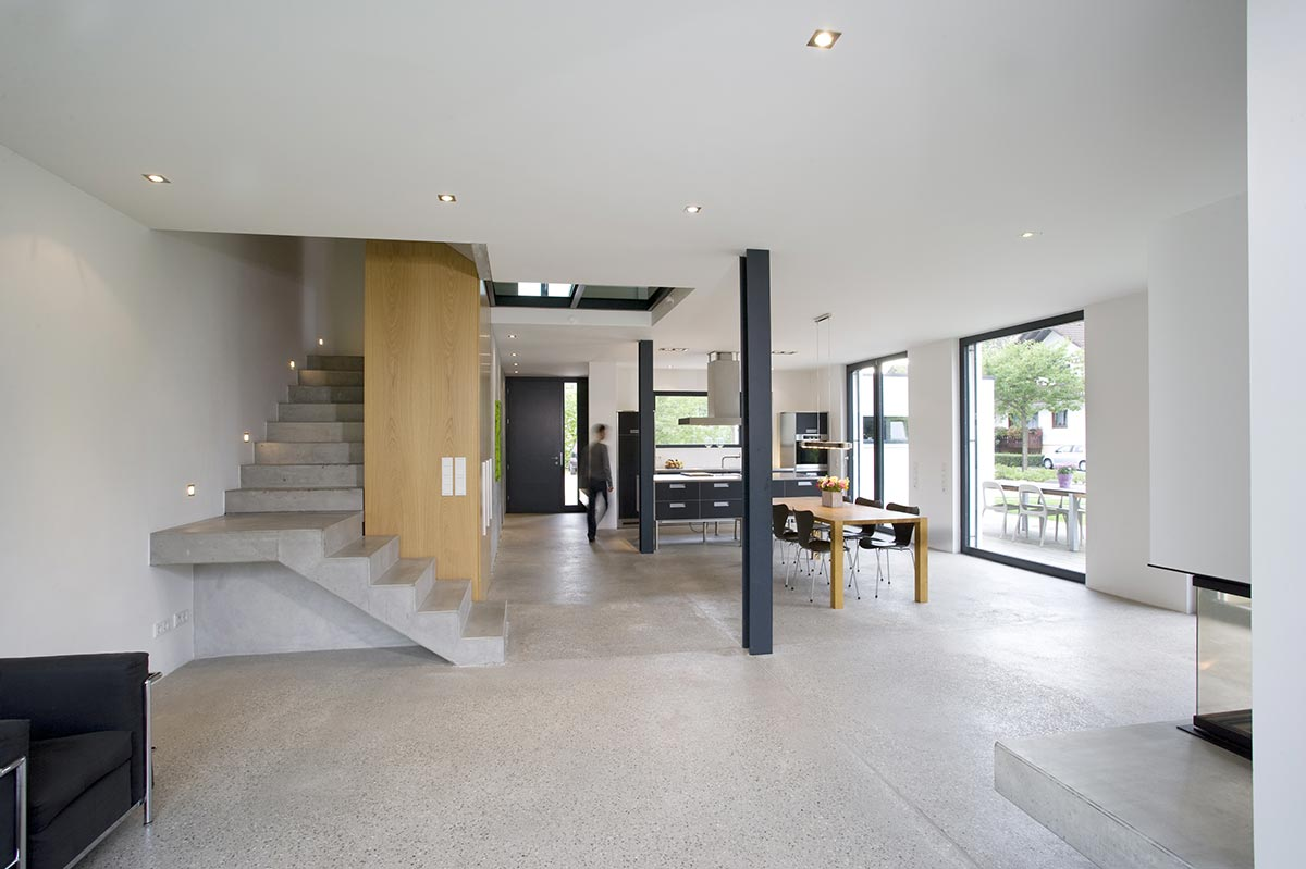 Thomas bechtold architekten b hl achern und baden baden for Innenarchitektur einfamilienhaus